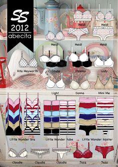 Abecita Underwear S/S 2012 by Tina Munther at Coroflot.com