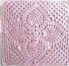 2 Pineapple Granny Squares pattern by Priscilla Hewitt : Ravelry: 2 Pineapple Granny Squares pattern by Priscilla Hewitt Crochet Cushions, Crochet Quilt, Crochet Home, Thread Crochet, Crochet Gifts, Crochet Motif, Crochet Stitches, Crochet Pillow, Crochet Granny Square Afghan