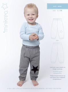 Pants - 20302 - Minikrea sewing pattern - 6mo-3yrs | Simplifi Fabric