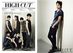 EXO-K style icon for Calvin Klein Jeans in 'High Cut' magazine