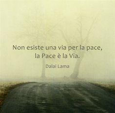 la pace è la via