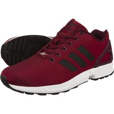 9593713f2 Details about Adidas Originals ZX Flux Torsion Burgundy Wine Red Mens Sizes  6 to 11 NEW