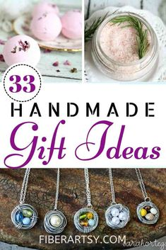 33 Handmade DIY Gift Ideas for you to make for Christmas Presents, Birthday Gifts and Mother's Day Diy Gifts For Dad, Diy Mothers Day Gifts, Diy Gifts For Friends, Ideas For Mothers Day, Homemade Art, Homemade Gifts, Homemade Beauty, Presents For Best Friends, Mother's Day Diy