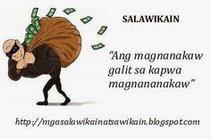 Mga Salawikain, Sawikain at Kasabihang Pilipino Tagalog Quotes Patama, Ugali, Filipino, Movie Posters, School, Film Poster, Billboard, Film Posters