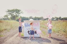 Gender reveal | a sister after 4 boys.