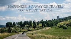 Happiness is a way of travel, not a destination.  #motorcycle #travel #italy #misslilyphotography #toscana #Tuscany