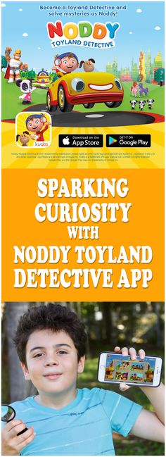 Sparking Curiosity With #NoddyToyland Detective App from Kuato Studios. See why we love it! AD