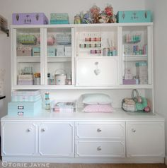 Craft Room Ideas On Pinterest Craft Rooms Cottage Crafts And Craft