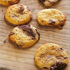 Chocolate Chip Cookies recipe by Hugh Fearnley-Wittingstall. For the full recipe and more, click the picture or visit RedOnline.co.uk