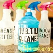 All purpose cleaner, tub and tile cleaner, anti bacterial, and grease cutter for the stove