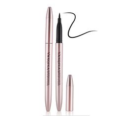 1pc Waterproof Liquid Eyeliner Beauty Makeup rose purpler Long-lasting Eye Liner Pencil Pen For Women Lady Make Up Cosmetic Tool