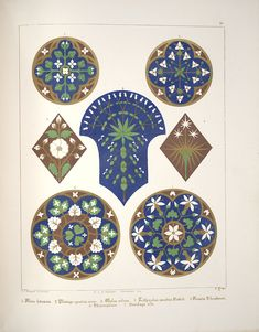 Augustus Pugin (1812-1852) was the first to rediscover in Gothic art the principle of a close union between art, craftsmanship and technique. His main treatises of architecture and decoration, such as 'Floriated Ornament' (1849), were to influence for a long time the artists of the Arts and Crafts movement