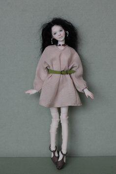 "Porcelain Girl Woman BJD 1 12 Dollhouse by N Yaskova 6"" 14 8 Cm | eBay"