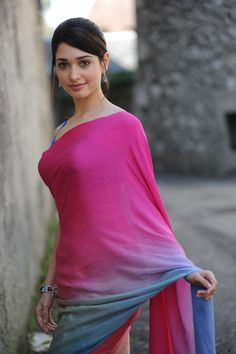 In Pink Saree