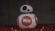 Like all of us, the folks at Disney Family have Star Wars on the brain. After all, we only have 50 days until Star Wars: The Force Awakens opens in theaters. With the countdown running and Halloween right around the corner, it makes perfect sense that Team Disney would put together an epic Star Wars Halloween pumpkin featuring everyone's new favorite character, BB-8! Rolly polly round and just so darn charming, BB-8 isthe perfectinspiration to make your Nerdoween extra crafty. Some fans…