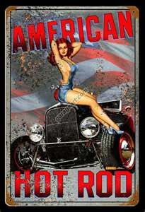 American Hot Rod Garage Art