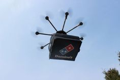 Domino's Pizza Deliver By Helicopter