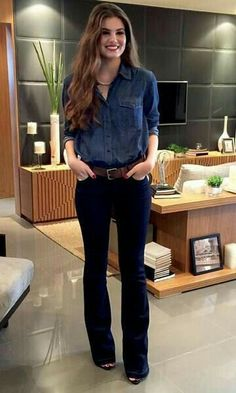 New Jeans Outfit Casual black cargo pants women high waisted jeans outfit Summer Work Outfits, Casual Work Outfits, Business Casual Outfits, Work Attire, Work Casual, Jean Outfits, Cool Outfits, Fashion Outfits, Women's Casual