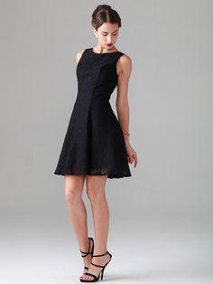 Qute Black Lace Dress// minus the heels for me