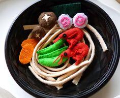 Udon bowl by adline✿makes, via Flickr
