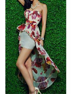 Print Dress from Mlovedresses.com