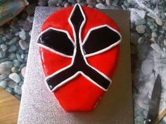 My son's power ranger cake!
