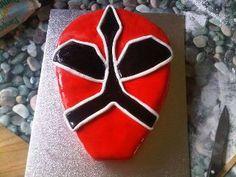 My son's power ranger cake!