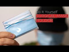Do not know where to keep your surgical mask? 😷 Why not make a holder so that you can keep it clean and STAY SAFE? Diy Mask, Diy Face Mask, Face Masks, Sewing Tutorials, Sewing Projects, Pest Solutions, Protective Mask, Cricut, Sewing Accessories