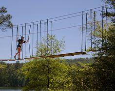 Tree Top Adventure ~ Callaway Gardens Resort, Atlanta, GA