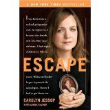 Escape: a true story about leaving polygamy by Carolyn Jessup, one of the wives of Merrel Jessup.Carolyn Jessup (born January 1, 1968) is a former Fundamentalist Church of Jesus Christ of Latter Day Saints member who wrote Escape, an autobiographical account of her upbringing in the polygamist sect and later flight from that community.[1] She is the cousin, by marriage, of Flora Jessop, another former FLDS member and advocate for abused children. Carolyn Jessop now lives in the Salt Lake…