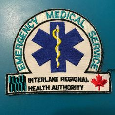 This patch is obsolete and is strictly for collecting. Ems Ambulance, Life Flight, Paramedic Quotes, Patches For Sale, Regional, Author, Canada, Logo, Health