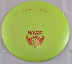 Gold Line Havoc Driver 174g Latitude 64 Discs Green Disc Golf Disc