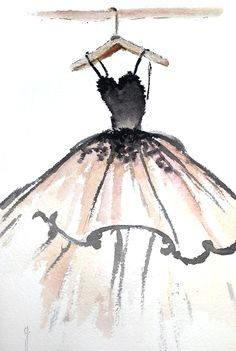 The Ball Gown. Illustration: Gillian Didham