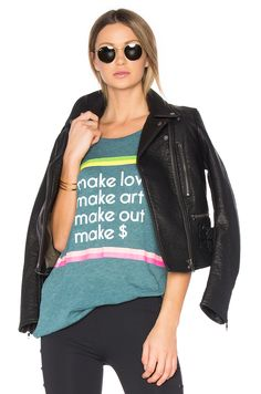 WILDFOX COUTURE MAKE IT TEE. #wildfoxcouture #cloth #