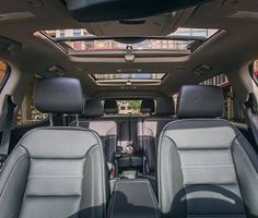 The Gmc Acadia Denali Interior Has A Premium Feel Thats Three Rows Deep With