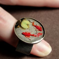 Koi Pond Ring by fairchildart on deviantART