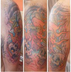 SKULL Tatuajes Arte es Disfrutar Chile. Metro Quinta Normal. Facebook Arte es Disfrutar