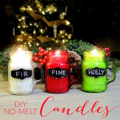 365 Designs: No melt no mess diy candle making Tin Candles, Candle Jars, Candle Making Business, Candle Making Supplies, Natural Candles, Candle Containers, Candle Molds, Homemade Candles, Candlemaking