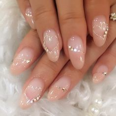 Top 55 Easy Nail Designs For Short Nails These trendy Nails ideas would gain you amazing compliments. Check out our gallery for more ideas these are trendy this year. Easy Nails, Simple Nails, Nail Manicure, Nail Polish, Kawaii Nails, Bride Nails, Nailed It, Elegant Nails, Gel Nail Designs