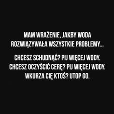 cytaty które uwielbiam [Nie Będę Kontynuować] - .1. - Strona 3 - Wattpad Mood Quotes, True Quotes, Funny Quotes, Funny Memes, Weekend Humor, Luanna, Gewichtsverlust Motivation, Wtf Funny, Videos Funny