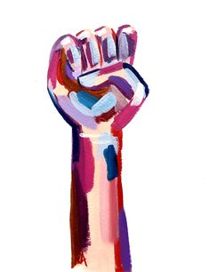 Feminist Fist Strawberry/ Original acrylic paint feminist fist painting equality fist womens march fist equal rights figurative art Feminist Art, Equal Rights, Grafik Design, The Artist, Wall Collage, Figurative Art, Art Inspo, Just In Case, Art Projects
