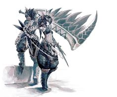 Monster Hunter - Nargacuga armor by Fuse Ryuuta
