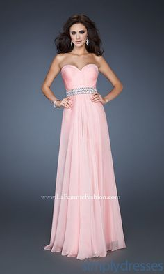 Attractive A-line Empire Floor-length Light Blue Chiffon Strapless Sweetheart Prom/Evening/Bridesmaid Dresses lf-18471