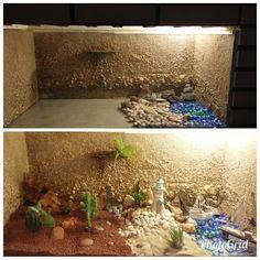 How to reuse old aquarium