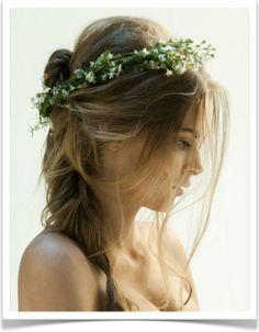 Romantique head piece