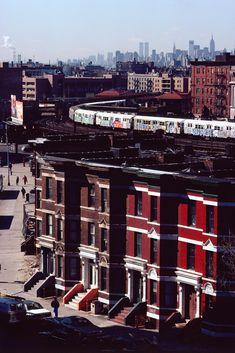 Camilo José Vergara - View South from Simpson Ave., South Bronx, 1989.