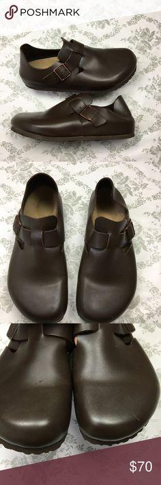 Birkenstock London brown clog brown sz 40 New 47bb08af83