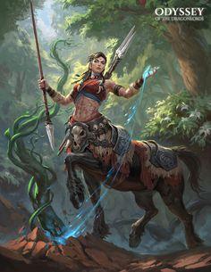 "Female Centaur / ""Odyssey of the Dragonlords"" - ART by Polar Engine - Team of talented illustration and concept artists Fantasy Warrior, Fantasy Girl, Fantasy Character Design, Character Design Inspiration, Character Concept, Character Art, Dungeons And Dragons Characters, Dnd Characters, Fantasy Characters"