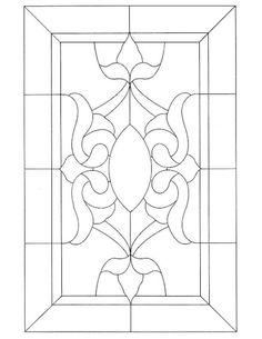 Victorian Stained Glass pattern by – Glass Art Designs Stained Glass Patterns Free, Stained Glass Quilt, Stained Glass Door, Stained Glass Designs, Stained Glass Projects, Leaded Glass, Mosaic Glass, Victorian Stained Glass Panels, Window Glass