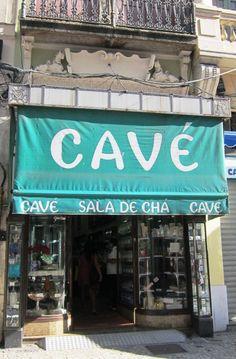 ETW: Casa Cave teahouse Sign, Rio de Janeiro, Brazil